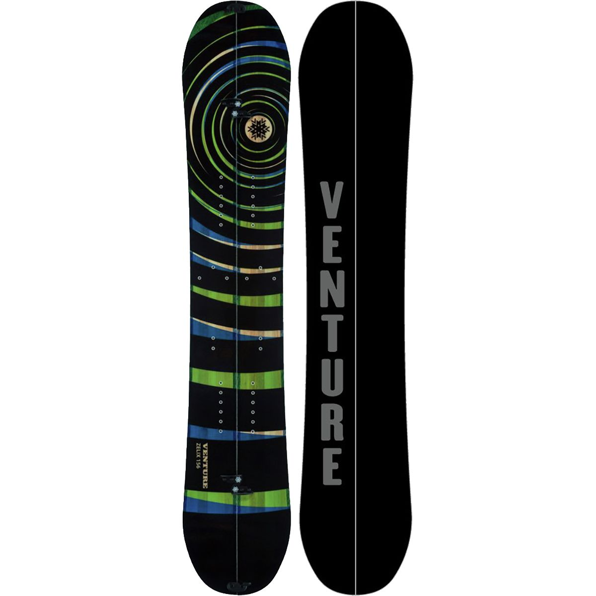 photo: Venture Snowboards Zelix Splitboard splitboard