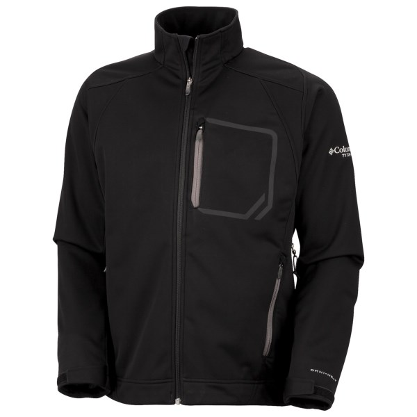 photo: Columbia Key Three Softshell Jacket soft shell jacket