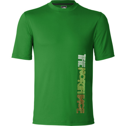 photo: The North Face Class V Printed Watershirt short sleeve performance top