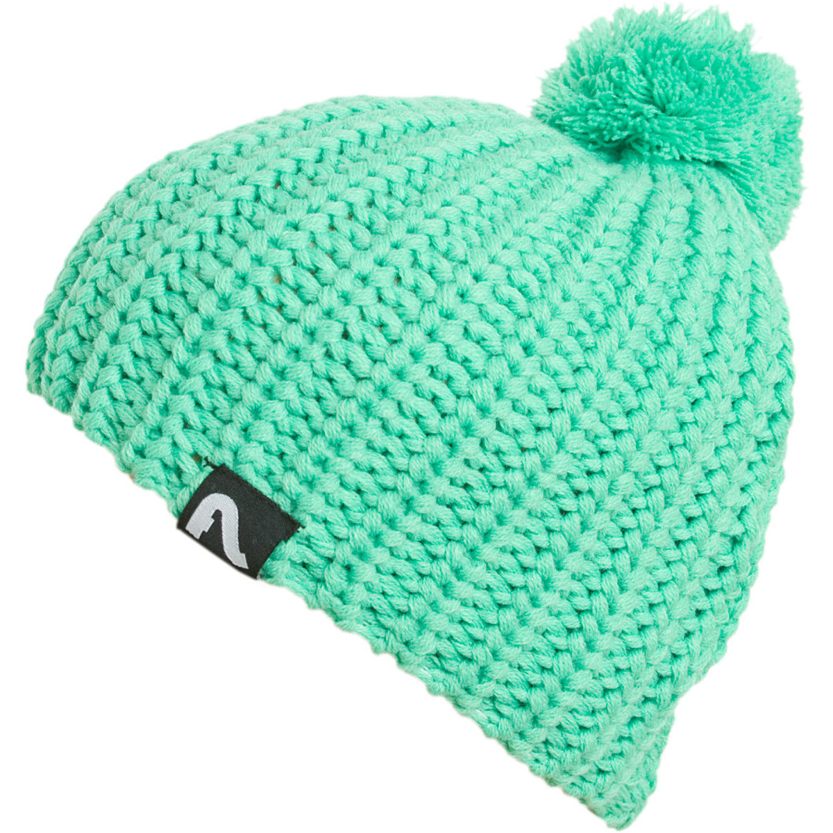 photo: Flylow Gear Loose Knit Pom Hat winter hat