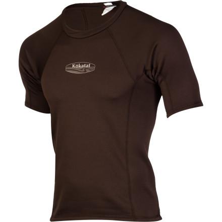 photo: Kokatat Outercore Short Sleeve Top short sleeve paddling shirt