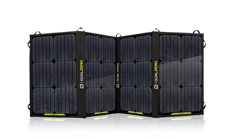 photo: Goal Zero Nomad 100 solar panel