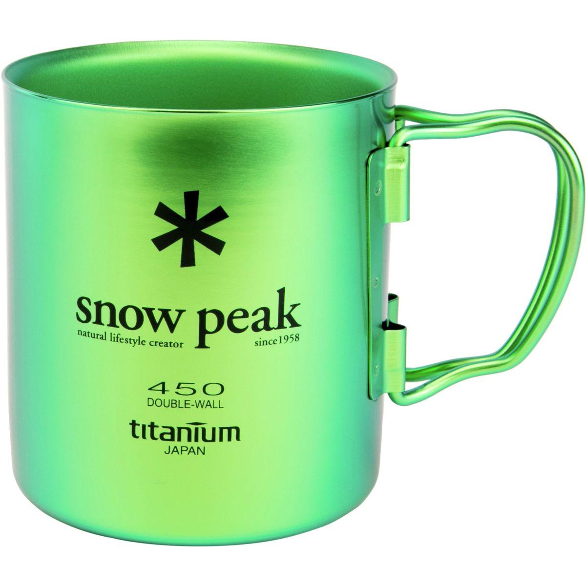 Snow Peak Ti-Double 450 Colored Cup