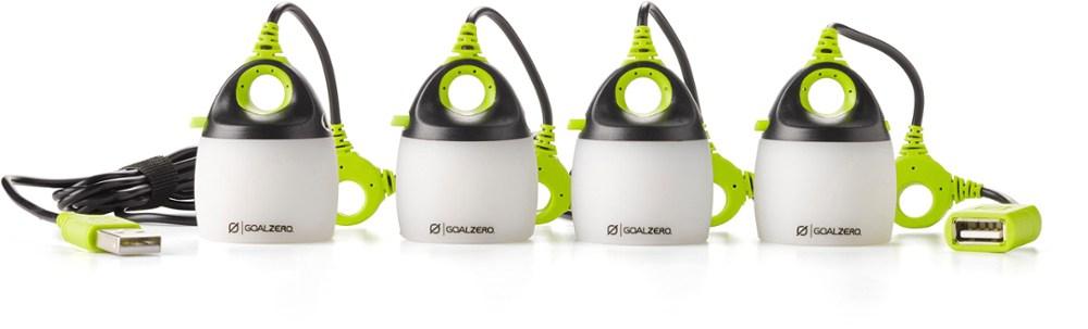 photo: Goal Zero Light-A-Life Mini Quad Light Set battery-powered lantern