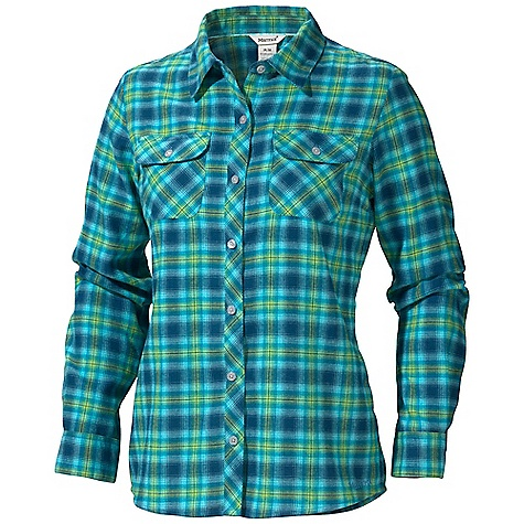 photo: Marmot Women's Southshore Flannel Shirt hiking shirt