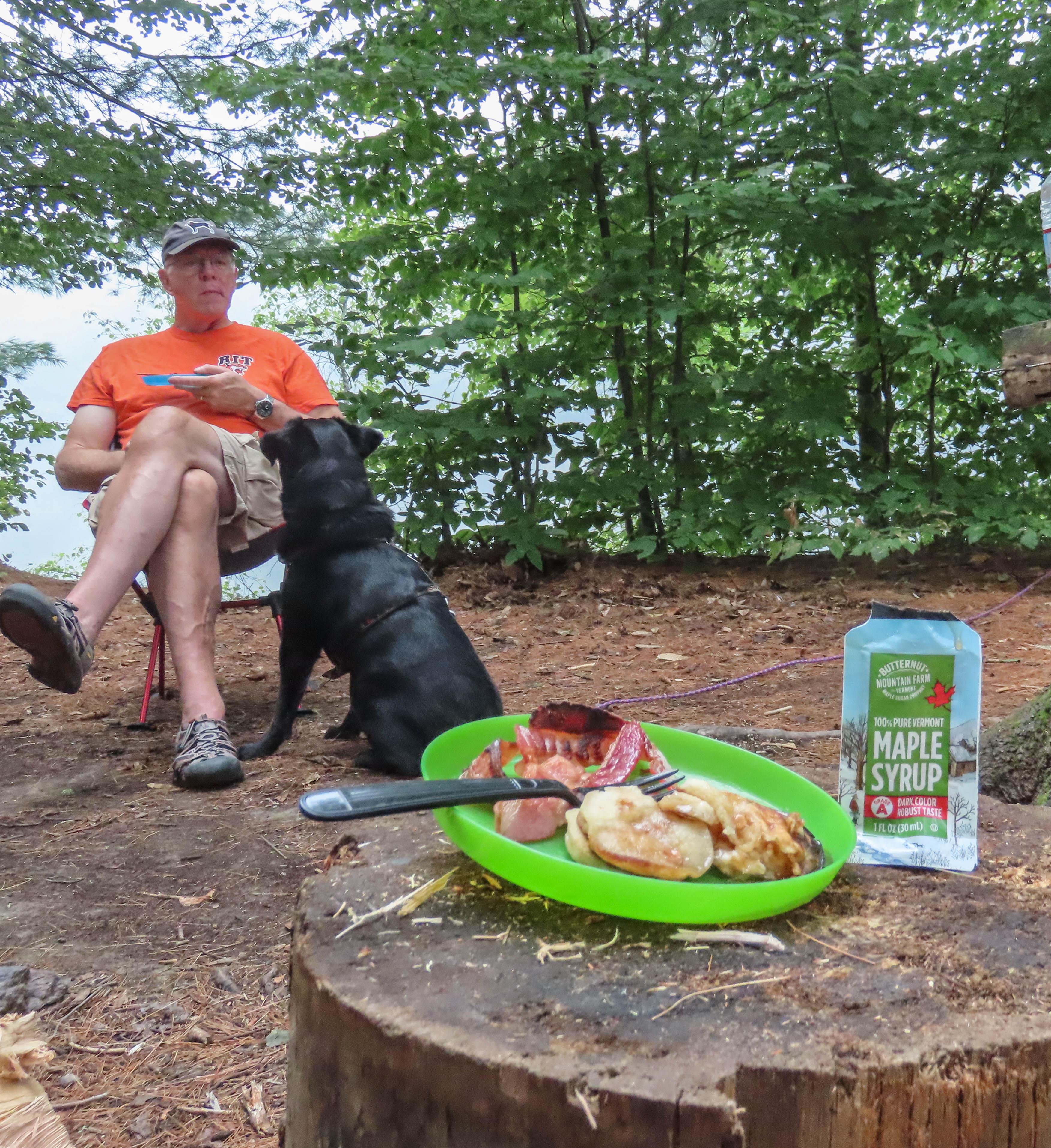 photo: Butternut Mountain Farm Maple Syrup Pouch breakfast