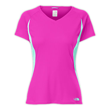 photo: The North Face Reflex V-neck short sleeve performance top