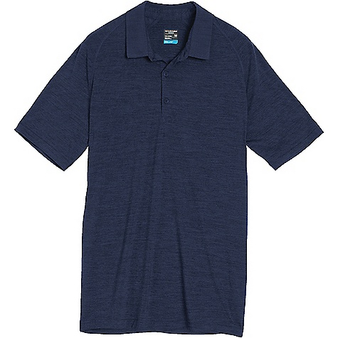 photo: Icebreaker Sphere Short Sleeve Polo short sleeve performance top