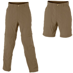 photo: ExOfficio Men's Insect Shield Convertible Pant hiking pant