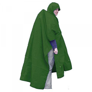 photo: Equinox Ultralight Poncho waterproof jacket