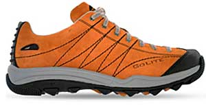 photo: GoLite Footwear Men's Lime Lite trail shoe