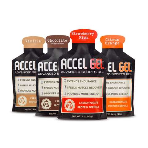 photo: Accelerade Accel Gel gel/chew