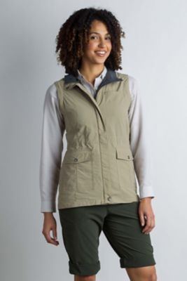 photo: ExOfficio Women's FlyQ Vest soft shell vest