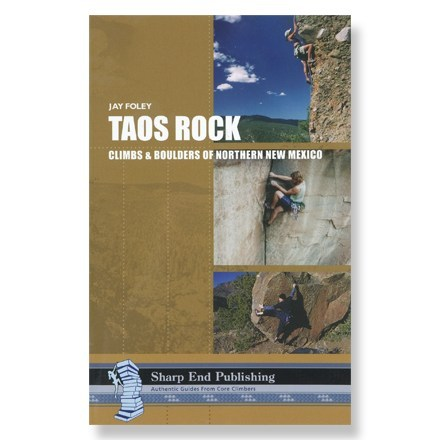 photo: Sharp End Publishing Taos Rock: Climbs and Boulders of Northern New Mexico us mountain states guidebook