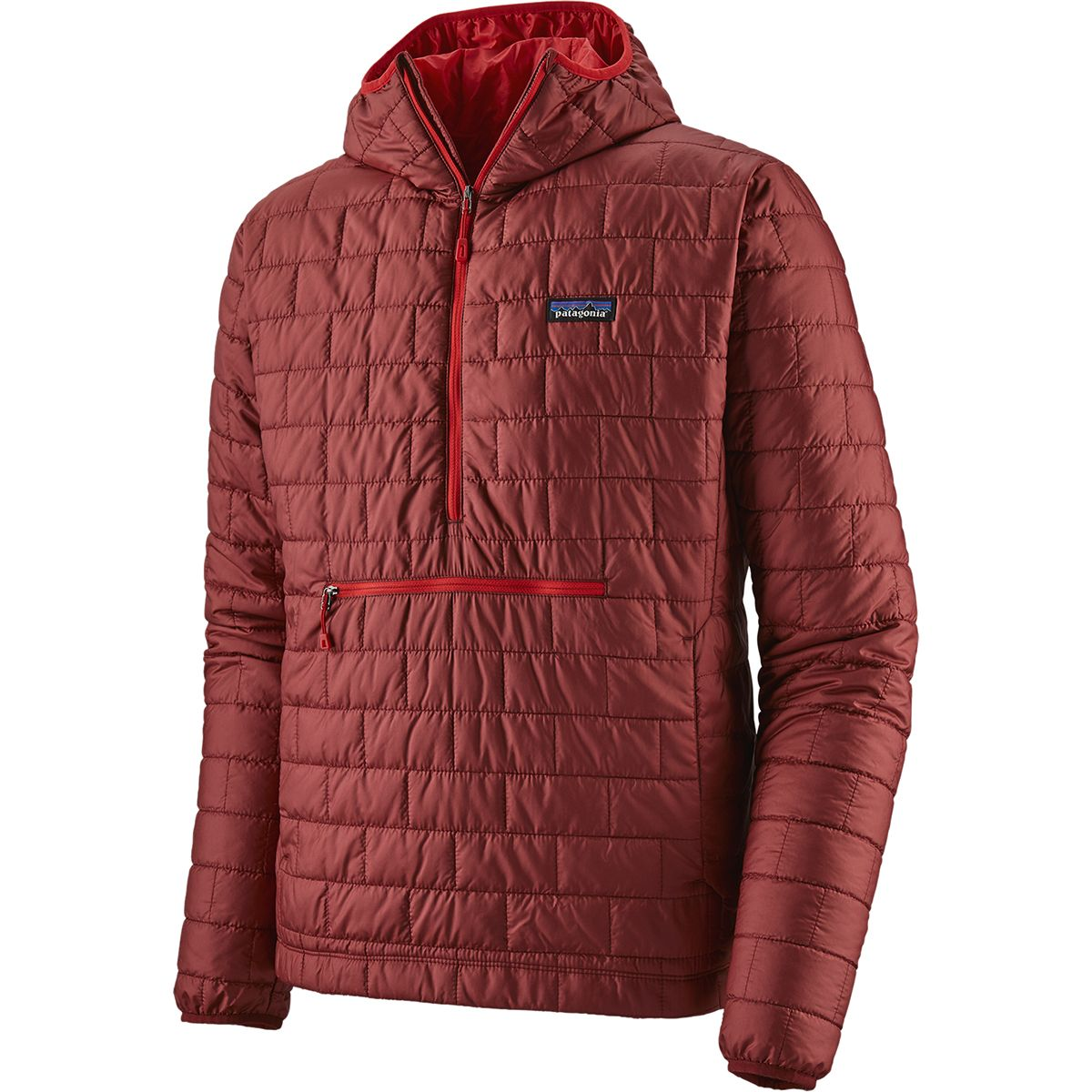 photo: Patagonia Men's Nano Puff Bivy Pullover synthetic insulated jacket