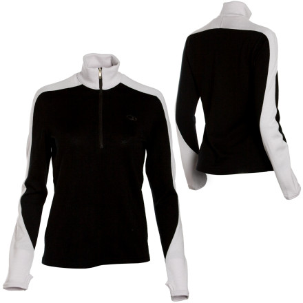 photo: Icebreaker Women's Rock Zip long sleeve performance top