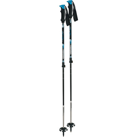 photo: Komperdell Carbon Freeride Vario alpine touring/telemark pole