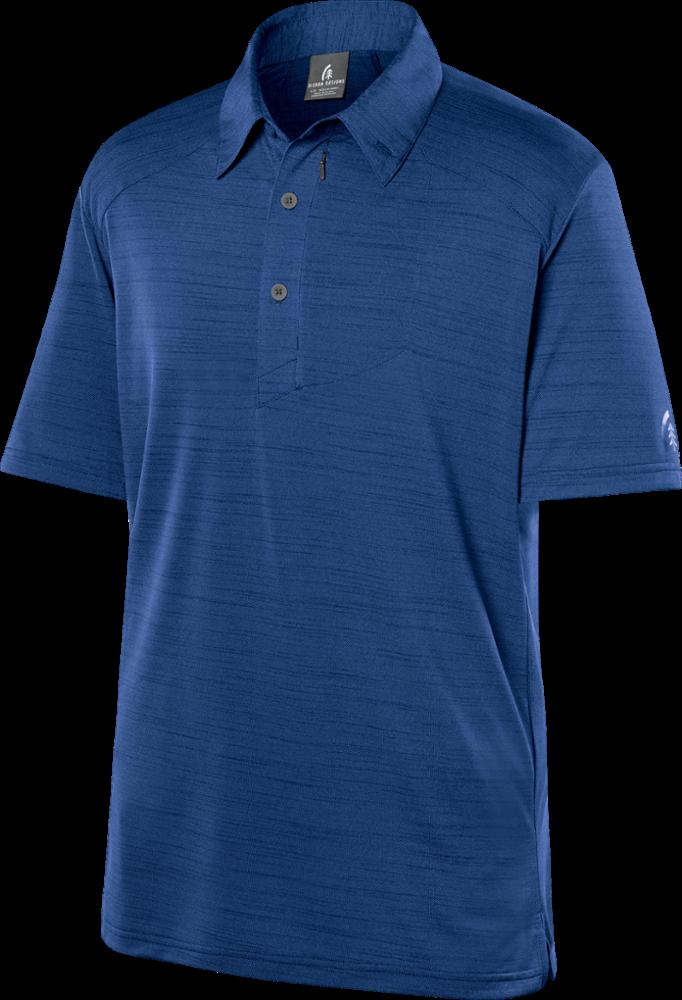 photo: Sierra Designs Short Sleeve Pack Polo short sleeve performance top