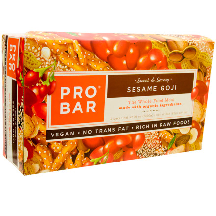 photo: ProBar Sesame Goji Sweet and Savory Bar bar