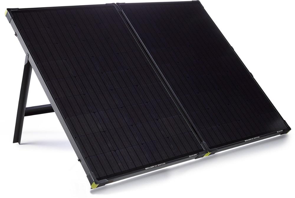 Goal Zero Boulder 200 Solar Panel Briefcase