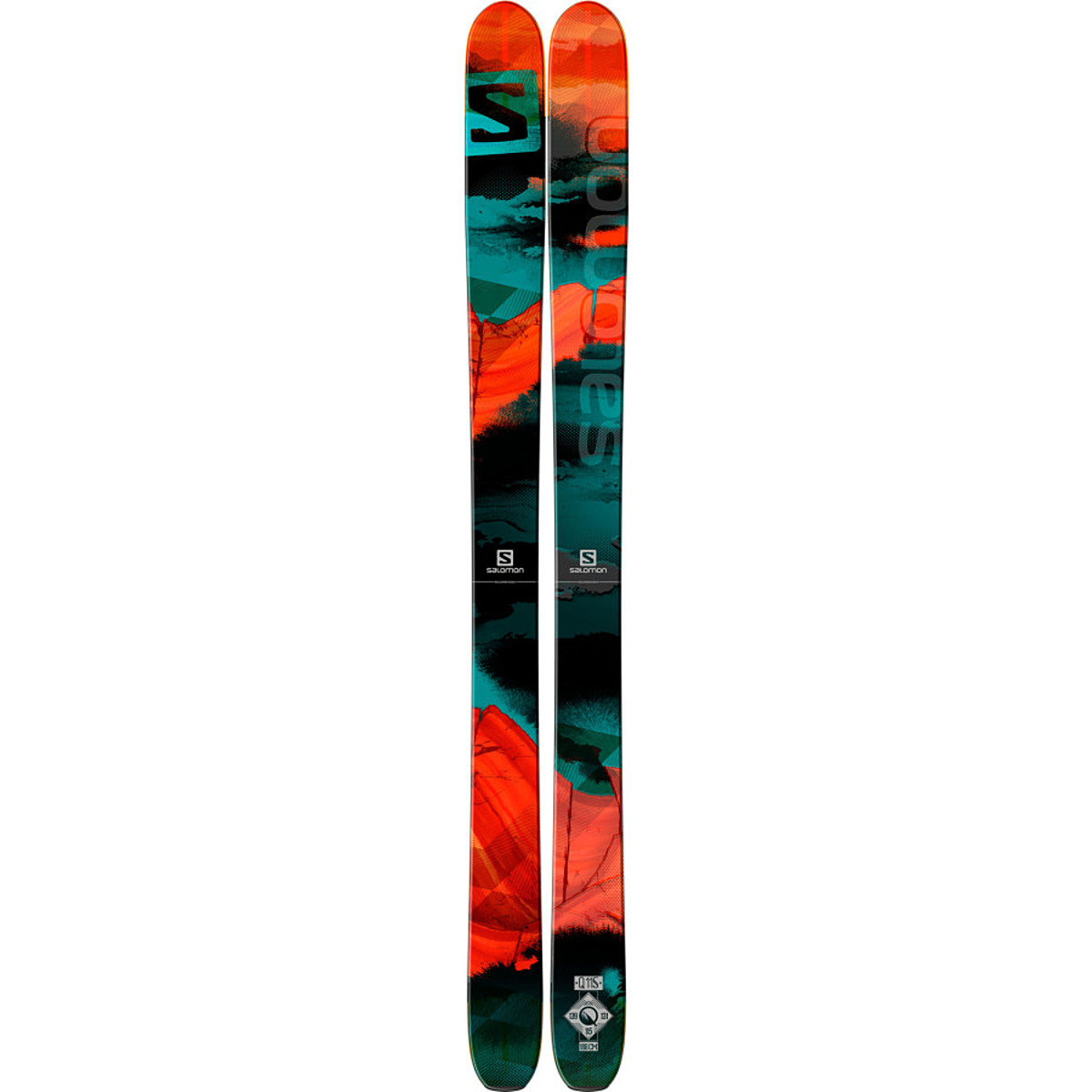 photo: Salomon Q-115 alpine touring/telemark ski