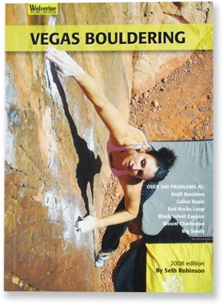 photo: Wolverine Publishing Vegas Bouldering us mountain states guidebook