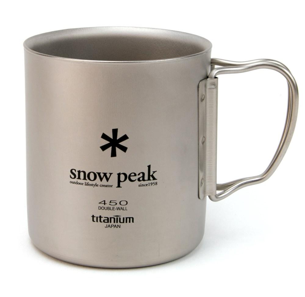 Snow Peak Ti-Double 450 Cup