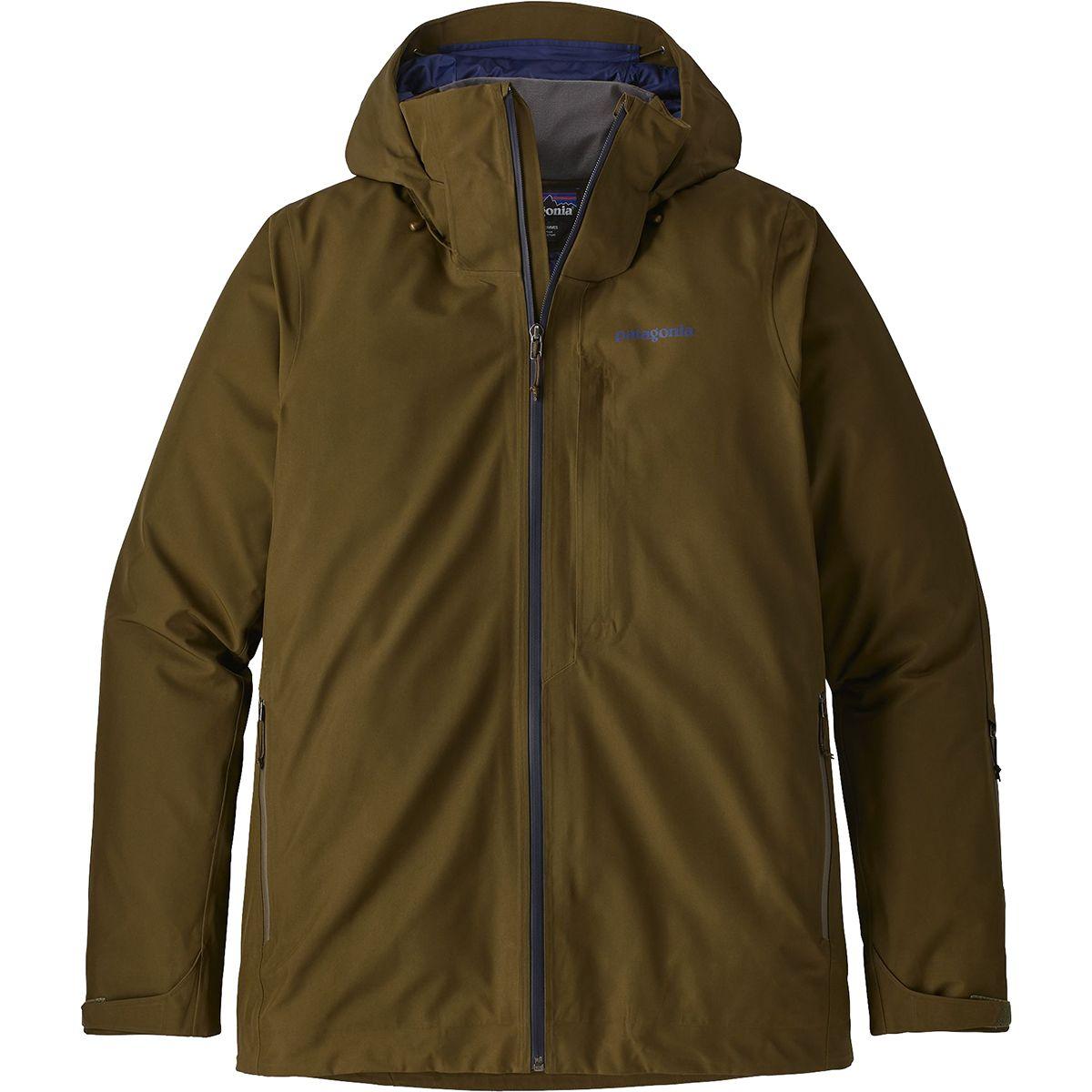 photo: Patagonia Men's Insulated Powder Bowl Jacket snowsport jacket
