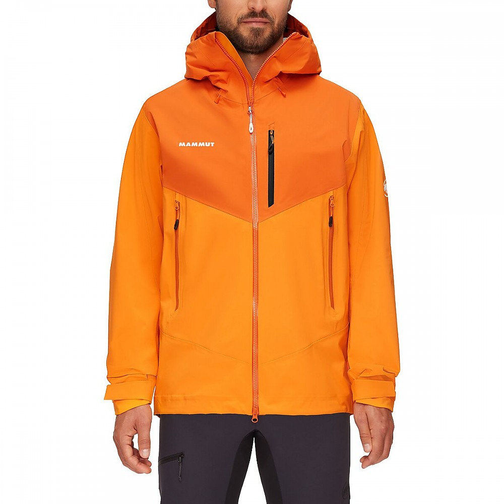 photo: Mammut Kento HS Hooded Jacket waterproof jacket