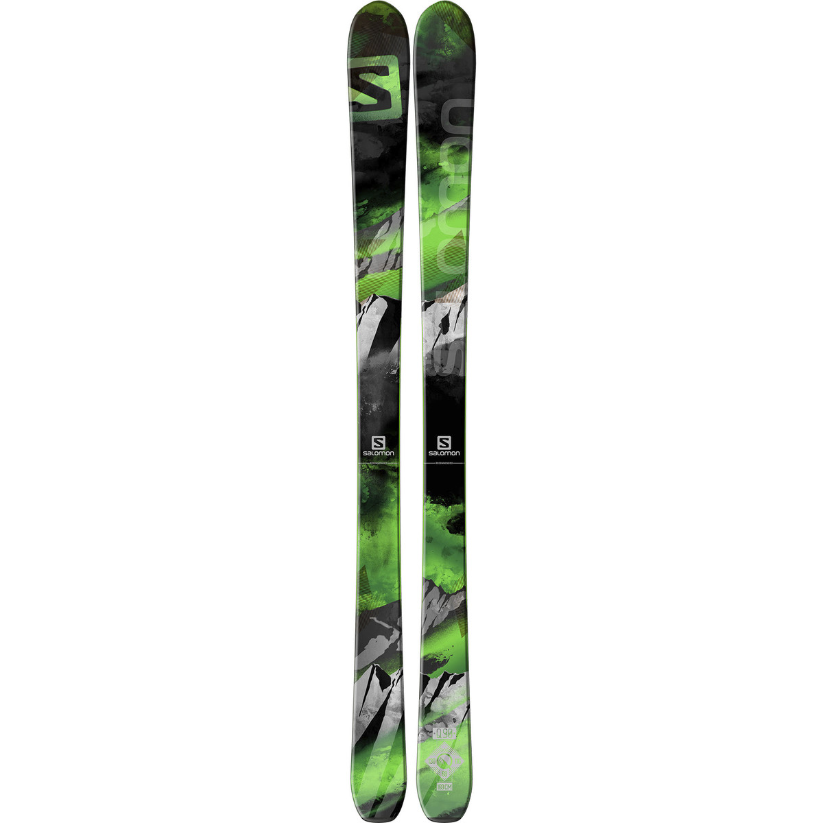 photo: Salomon Q-90 alpine touring/telemark ski