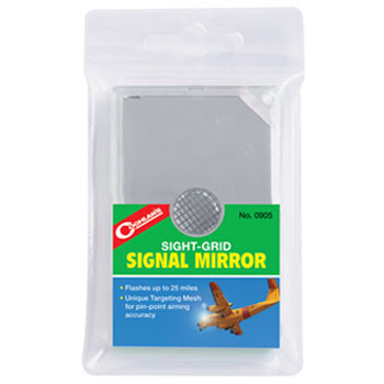 photo: Coghlan's Sight-Grid Signal Mirror signal mirror/flag