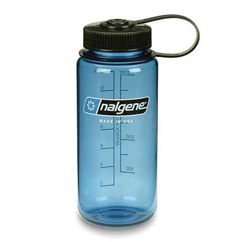 photo: Nalgene 16 oz Wide Mouth Lexan water bottle