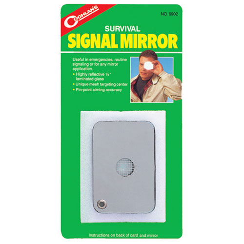 photo: Coghlan's Survival Signal Mirror signal mirror/flag