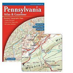 DeLorme Pennsylvania Atlas & Gazetteer