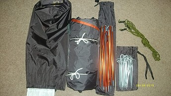As you can see ALL of the storage sacks/bags are too long and too big. The pole and stake bags will each hold twice what is needed and the main stuff sack ... & ALPS Mountaineering Triton 1.5 Reviews - Trailspace.com