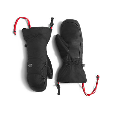 photo: The North Face Men's Nuptse Mitt insulated glove/mitten