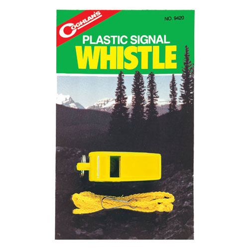 photo: Coghlan's Plastic Signal Whistle whistle/horn