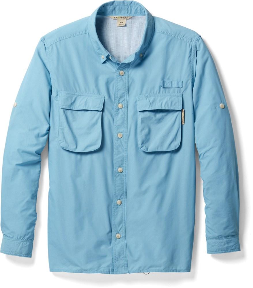 photo: ExOfficio Air Strip Short Sleeve Shirt hiking shirt
