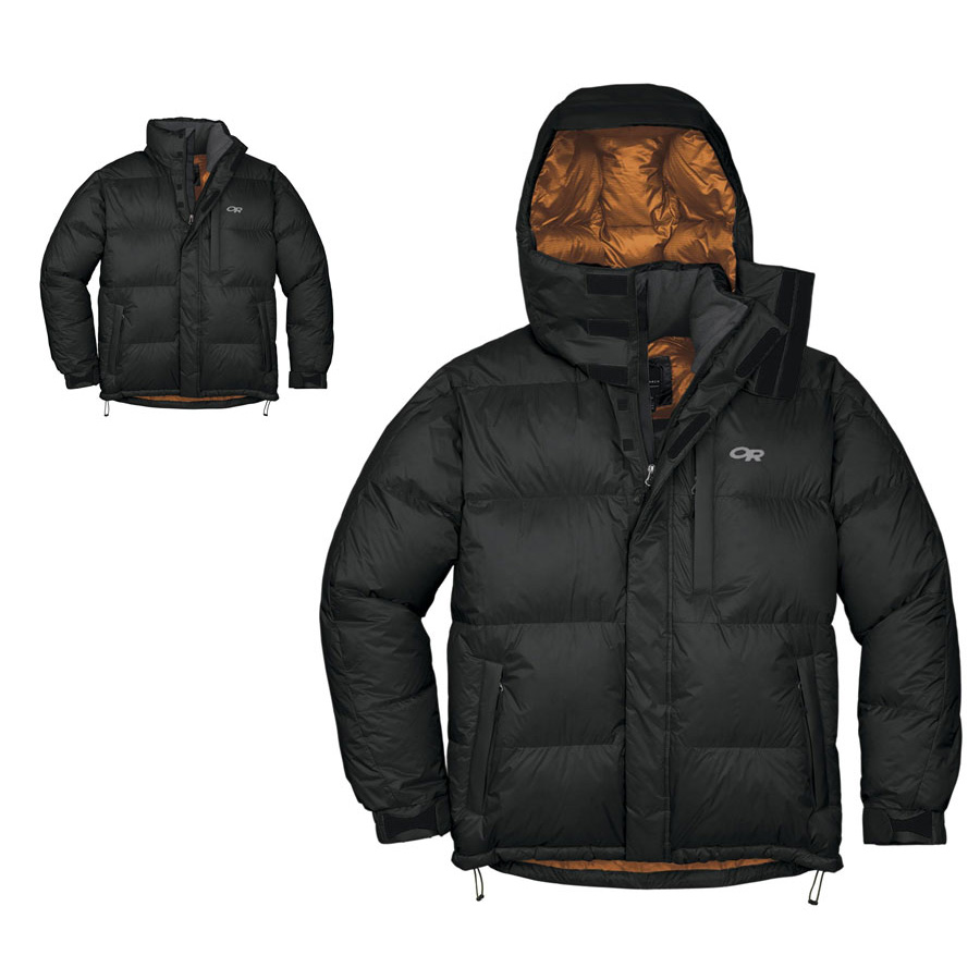 photo: Outdoor Research Megaplume Jacket down insulated jacket