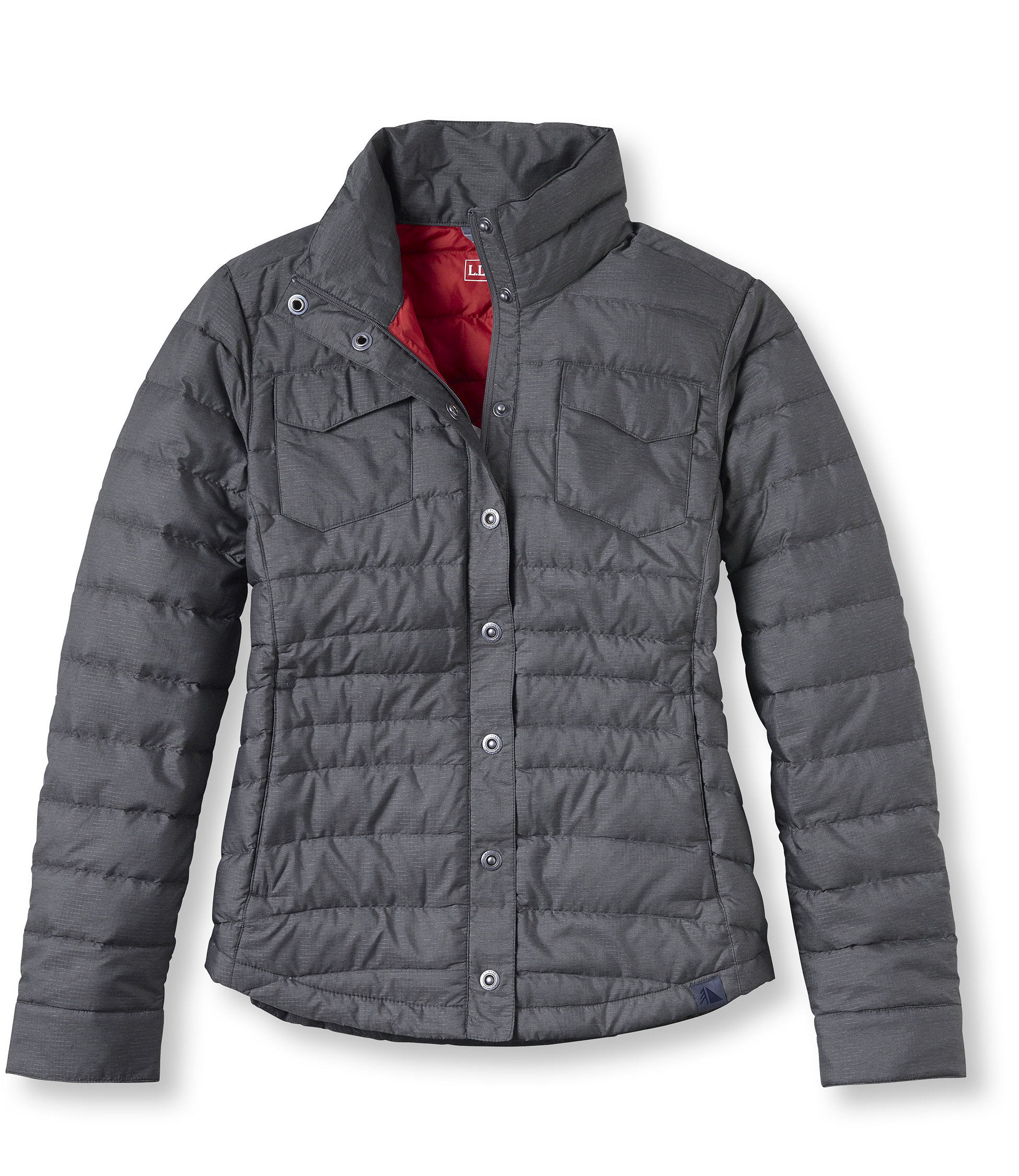 photo: L.L.Bean Traverse Shirt Jacket down insulated jacket