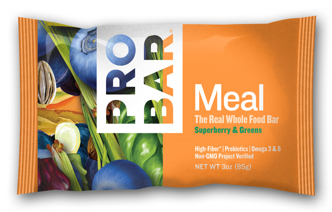 photo: ProBar Superberry & Greens Meal Bar nutrition bar