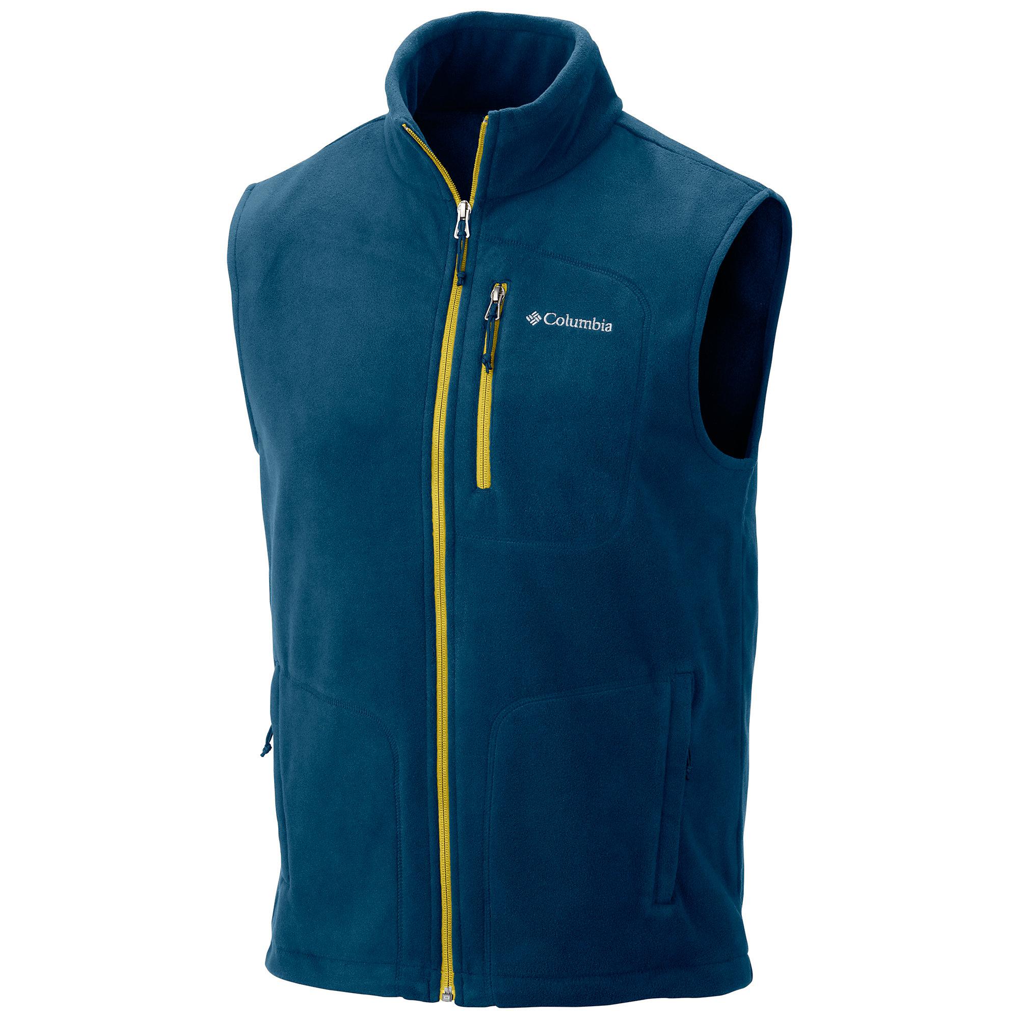 photo: Columbia Fast Trek Fleece Vest fleece vest