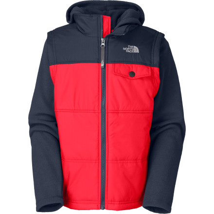 photo: The North Face Vesty Vest Fleece Hoodie synthetic insulated vest