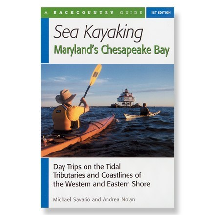 photo: Countryman Press Sea Kayaking Maryland's Chesapeake Bay us south guidebook