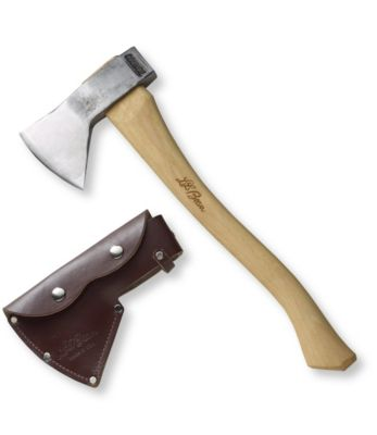 L.L.Bean Hudson Bay Axe With Leather Sheath