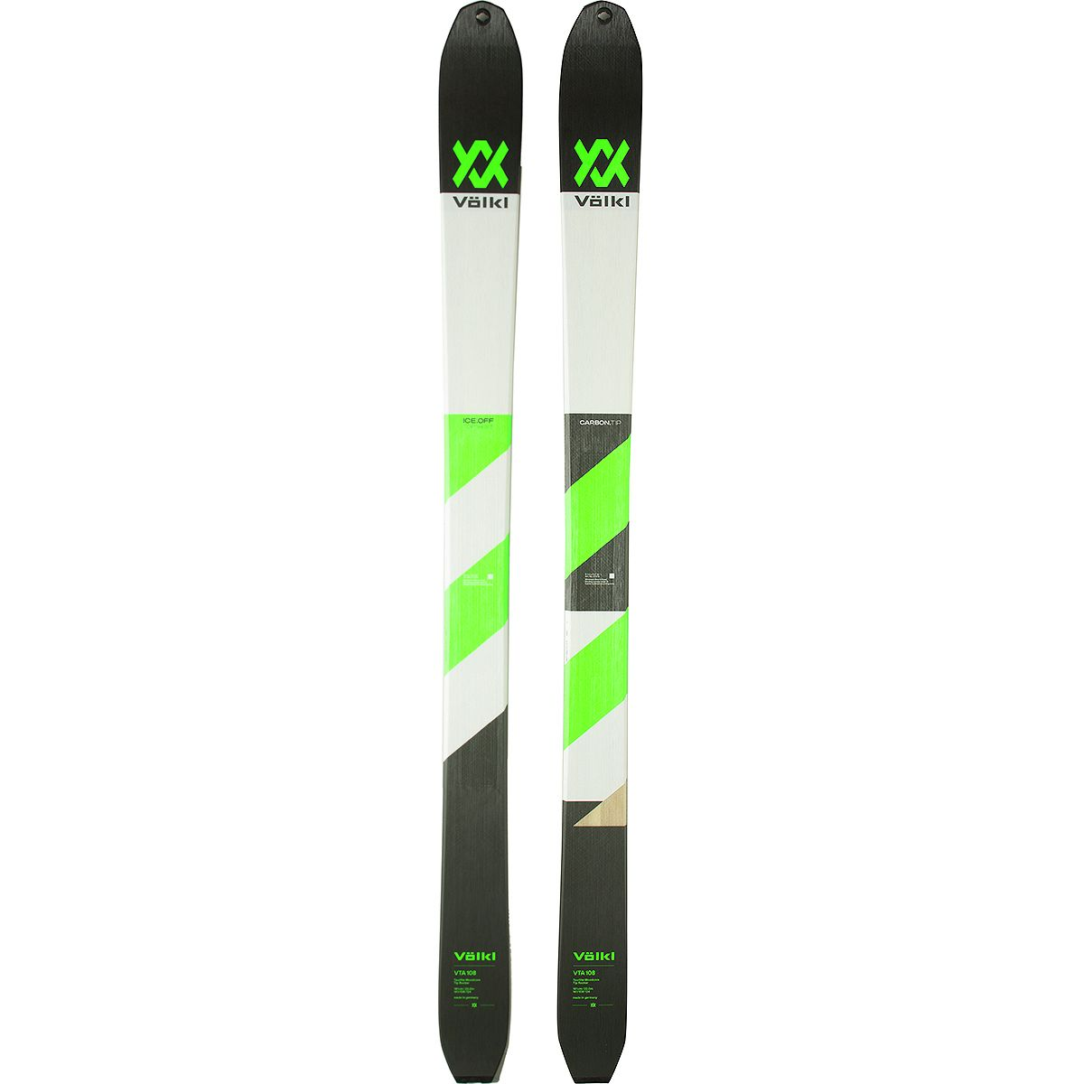 photo: Volkl VTA 108 alpine touring/telemark ski