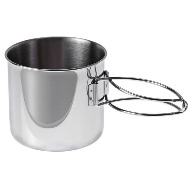 Gsi Outdoors Glacier Ss Nesting Wine Glass Unisex Adventure Gear Mug Stainless