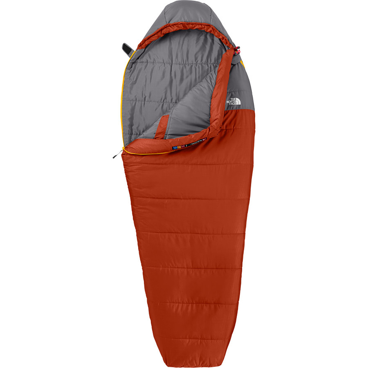 photo: The North Face Aleutian 50/10 warm weather synthetic sleeping bag