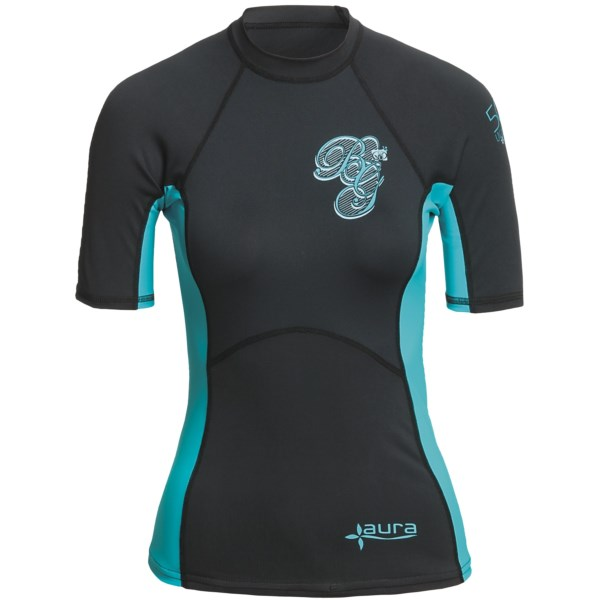photo: Body Glove Aura Short Arm Top short sleeve rashguard