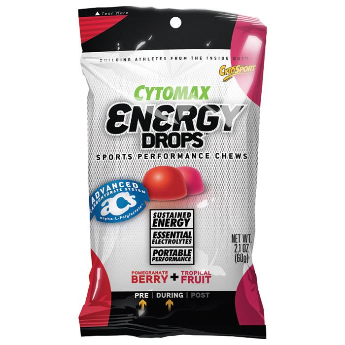 photo of a CytoSport gel/chew